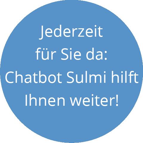 Chatbot Sulmi hilft Ihnen